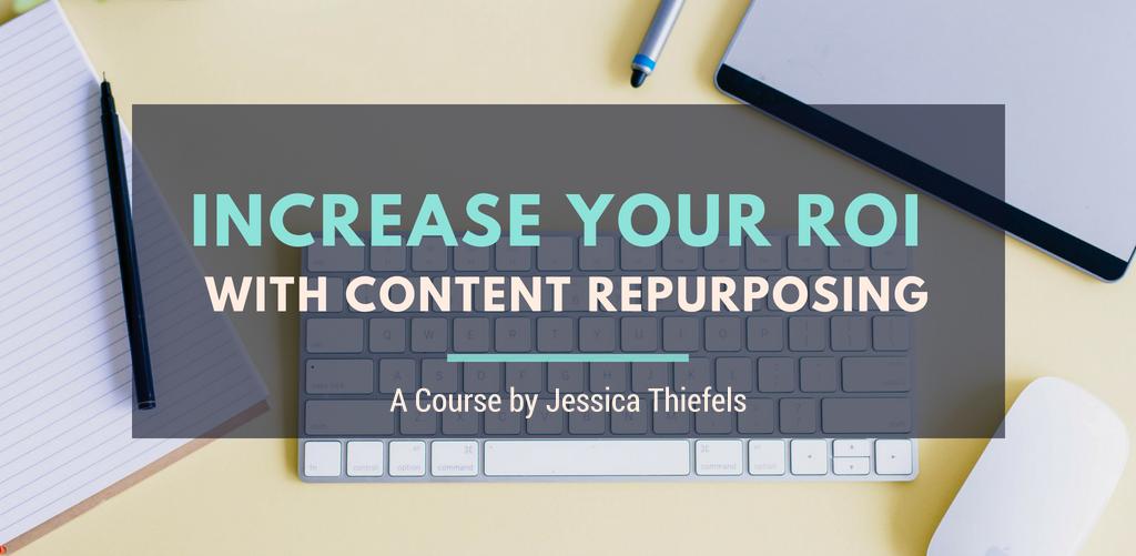 Content ROI repurposing