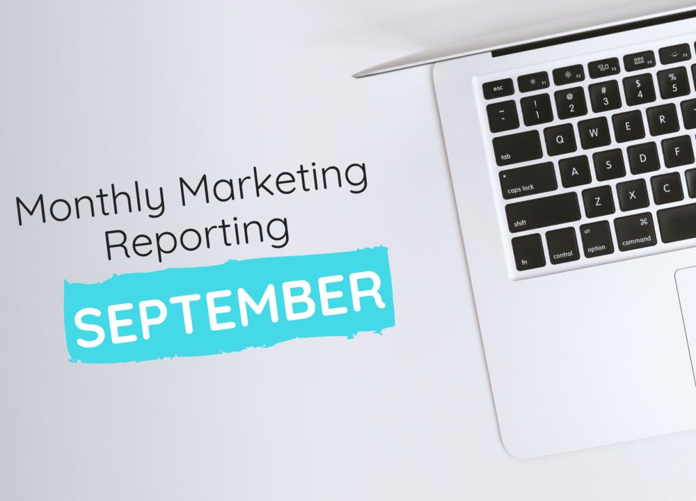 September Marketing Data Reporting