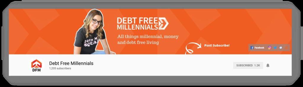 social media coaching case study debt free millennials